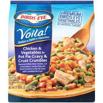Birds Eye® Voila! Chicken & Vegetables in Pot Pie Gravy & Crust Crumbles