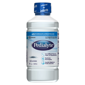 Pedialyte Oral Electrolyte Solution - Unflavored (33.8 oz)