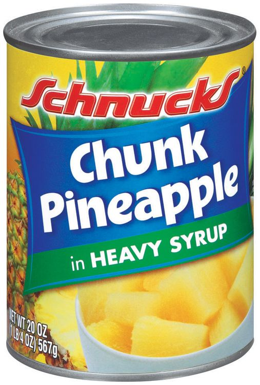 Schnucks® Chunk Pineapple in Heavy Syrup