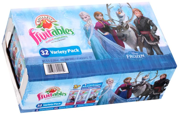 Apple & Eve® Fruitables® Fruits & Vegetables Juice Variety Pack 3 Box