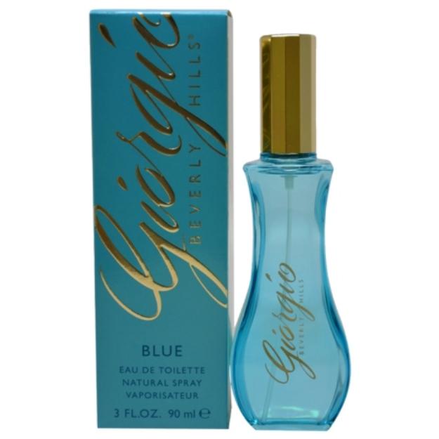 Giorgio Beverly Hills Blue Eau de Toilette, 3 fl oz