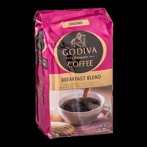 Godiva Chocolatier Breakfast Blend Ground Coffee