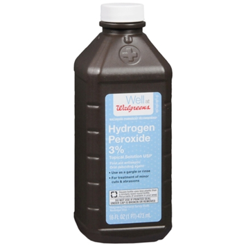 Walgreens Hydrogen Peroxide 3% First Aid Antiseptic