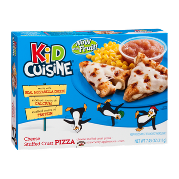 Kid Cuisine Pizza Cheese Stuffed Crust