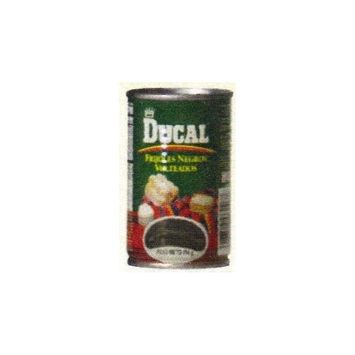 Ducal Canned Black Refried Beans 5.5 oz