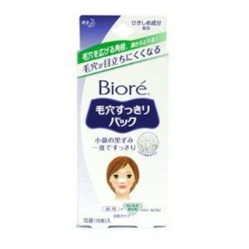 Kao Biore Pore Pack For Nose & Other Areas 10 Strips