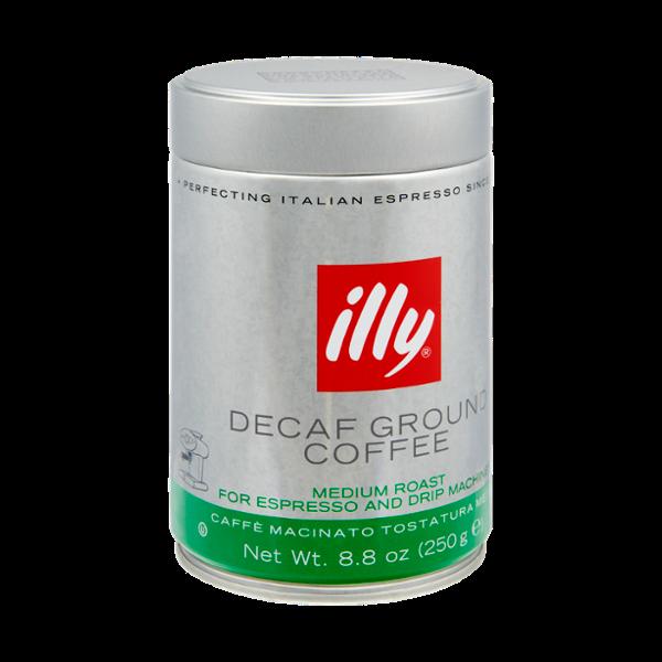 Illy Decaf Medium Roast Ground Coffee