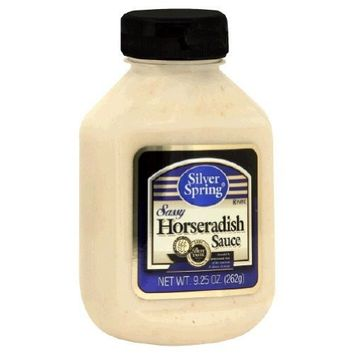 Silver Springs Horseradish Sauce, Sassy, 9.5-Ounce (Pack of 9)