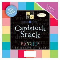 """Die Cuts With A View DCWV 29-Color Cardstock Stack - 12"""""""