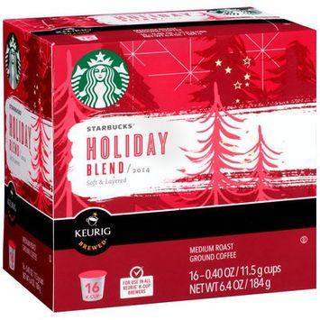 STARBUCKS® Holiday Blend 2014 K-Cups®