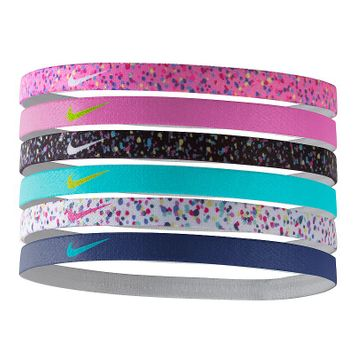 Nike Printed Headbands Assorted Six pack