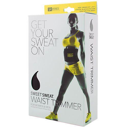 Sports Research Sweet Sweat Waist Trimmer Belt