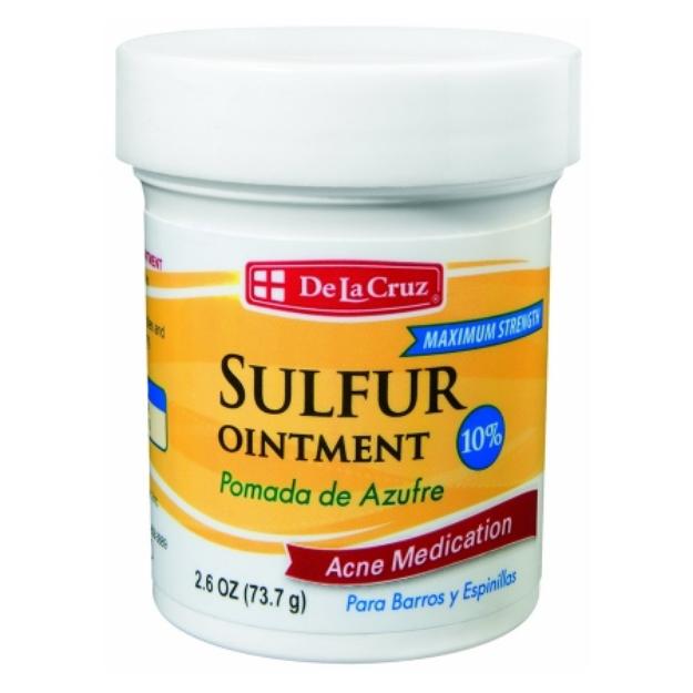 De La Cruz Sulfur Ointment 10% Acne Medication Ointment