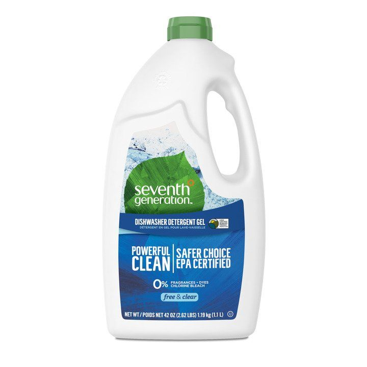 Seventh Generation Dishwasher Gel - Free and Clear