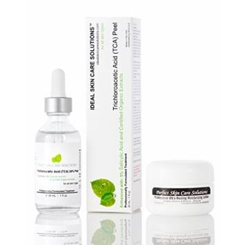 Professional 20% Pure Medical Grade Trichloroacetic Acid (TCA Peel) Chemical Peel solution, 30mL w/ Powerful Ultra Healing Moisturizing Lotion - PRICE INCLUDES US DOMESTIC. INTERNATIONAL SHIPPING AVAILABLE