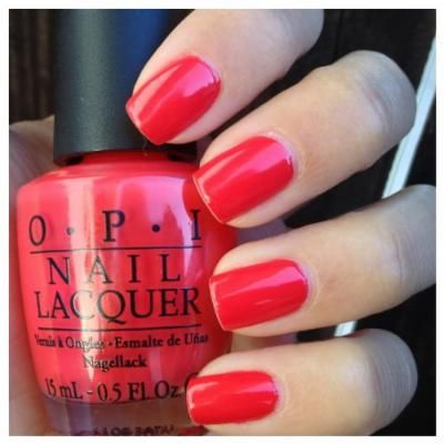 OPI Nail Lacquer. Cajun Shrimp L64