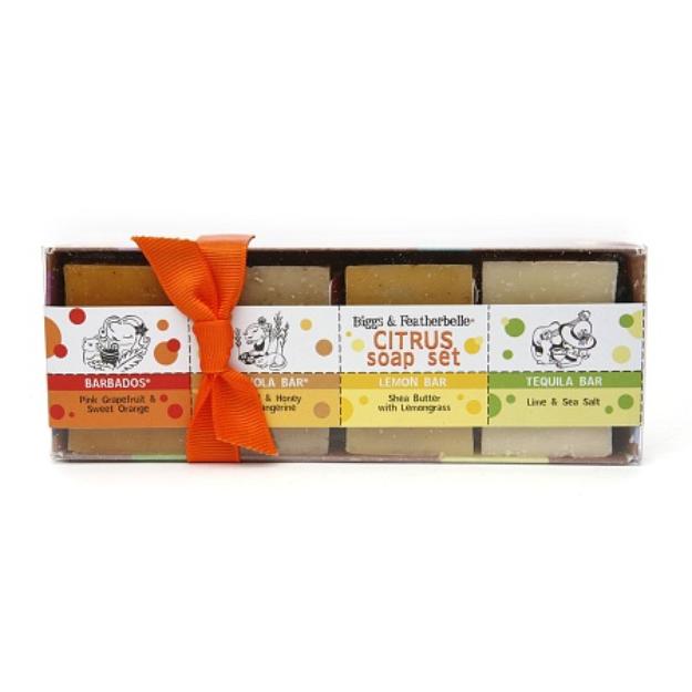 Biggs & Featherbelle Citrus Soap Set