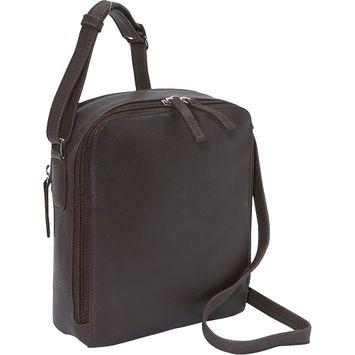 Derek Alexander Two Top Zip Camera Bag - Brown