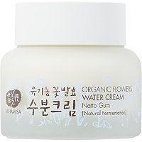 Whamisa Organic Flowers Water Cream with Natto Gum