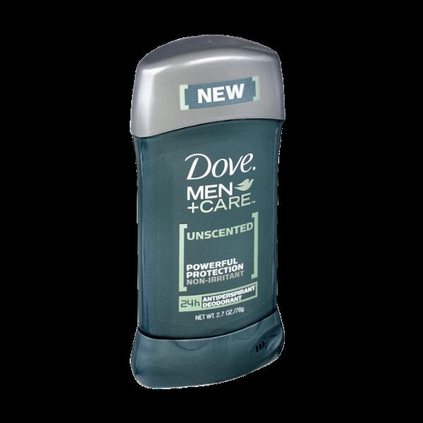 Dove Men+Care Unscented Antiperspirant Deodorant