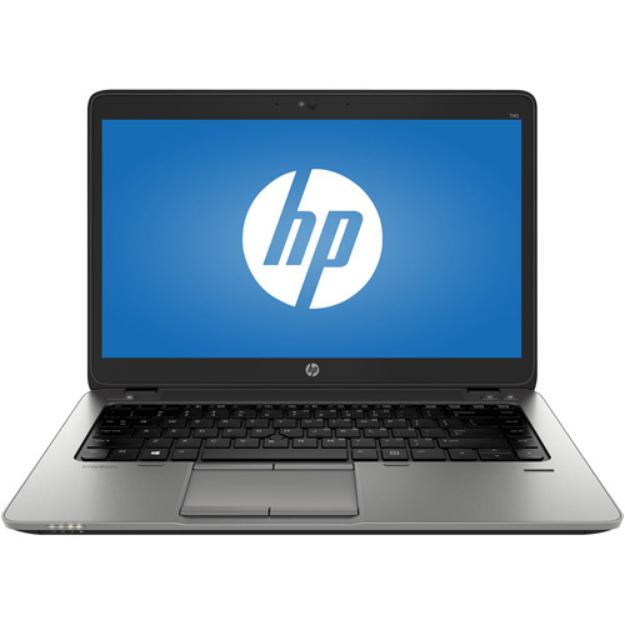 """HP EliteBook 740 G1 Notebook PC - Intel Core i3 4030U 1.9GHz, 4GB DDR3L, 500GB HDD, 14.0"""" HD Display, Windows 7 Professi"""