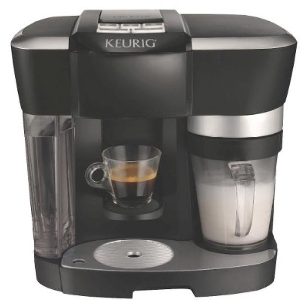 Keurig Cappuccino Maker - R500 Rivo Single Serve Brewer, and Latte
