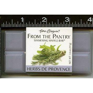 Astrodeals Wax Melts, Simmering Wax Squares, , , 1 , , Herbs De Provence, Waffle, Bar