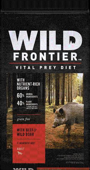 Wild Frontier with Beef & Wild Boar