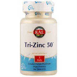 Kal Tri-Zinc 50 - 90 Tablets