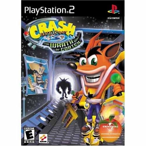 Konami / Universal Interactive Studios Crash Bandicoot: The Wrath of Cortex [Disc, PlayStation 2]