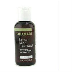 Hamadi Lemon Mint Hair Wash Shampoo/ Color Protector (For Blonde/ Color-Treated Hair) 120ml/4oz