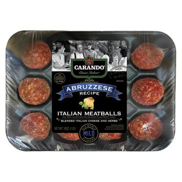 Carando Abruzzese Italian Style Meatballs