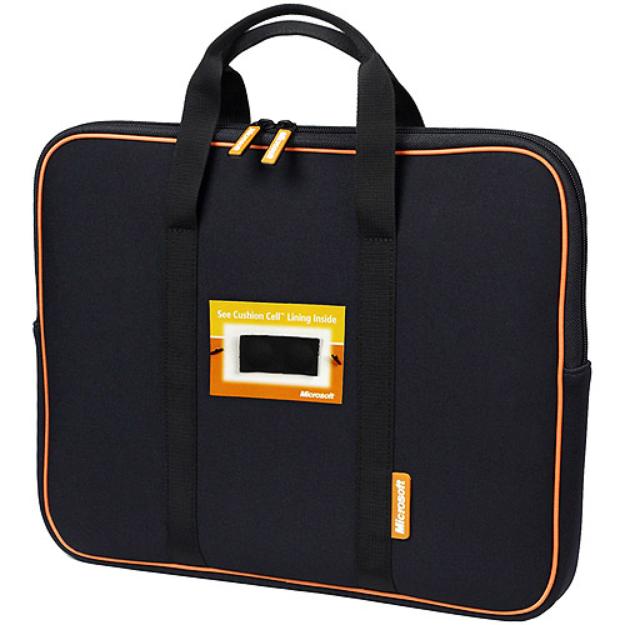 "Microsoft 16"" Neoprene Laptop Sleeve, Black"