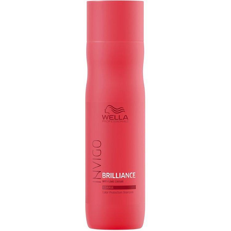 Wella Invigo Brilliance Color Protection Shampoo For Coarse Hair