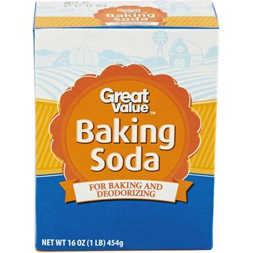 Great Value All Natural Baking Soda, 16 oz