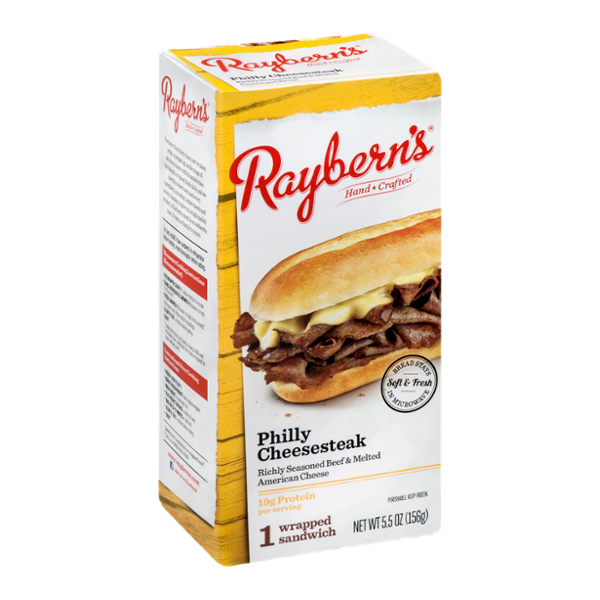 Raybern's Wrapped Sandwich Philly Cheesesteak