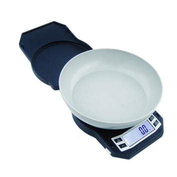 American Weigh Digital Kitchen Scale with Removable Weighing Bowl 500 Grams