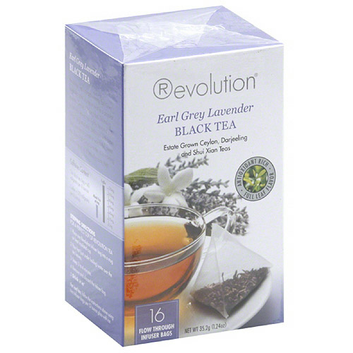Revolution Tea Earl Grey Lavender Black Tea Bags