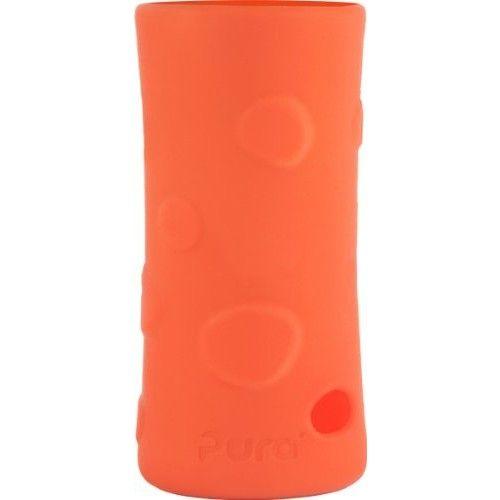 Pura Kiki Pebble Silicone Bottle Sleeve, Orange, Tall