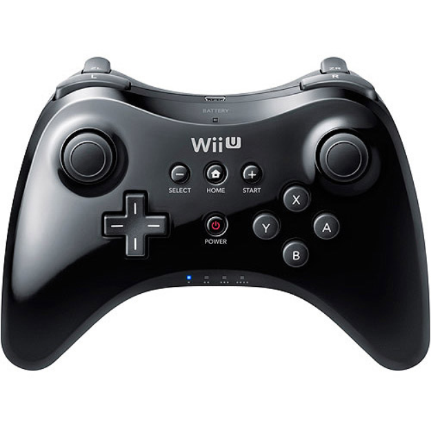 Nintendo Wii U Pro Controller, Black