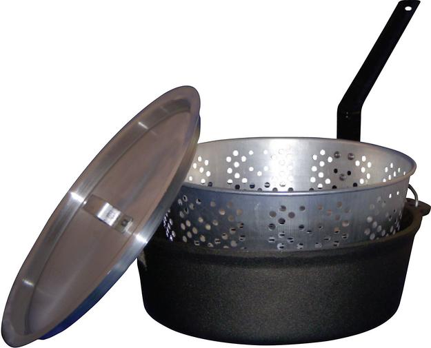 King Kooker Cast Iron Pot