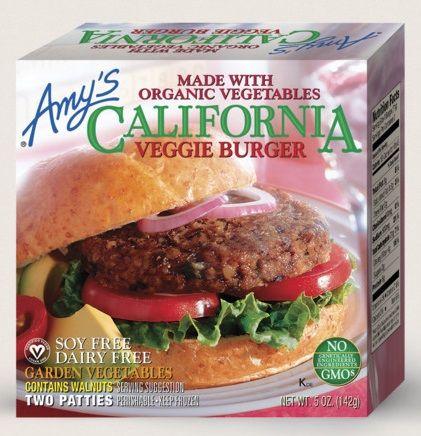 Amy's Kitchen California Veggie Burger - 2 Patties