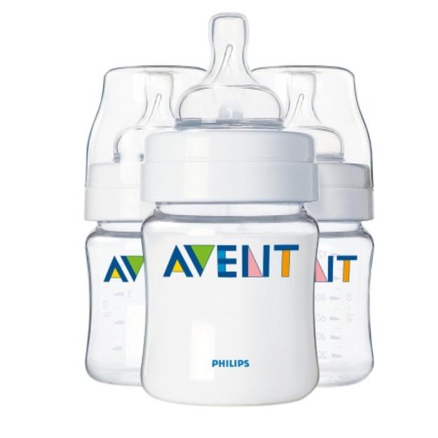 Avent Philips  BPA Free Classic 4 Ounce Polypropylene Bottles