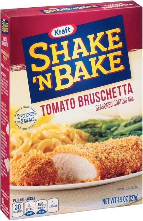 Kraft Shake 'n Bake Tomato Bruschetta Seasoned Coating Mix
