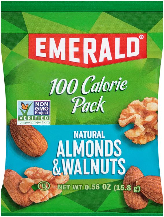 Emerald® 100 Calorie Pack Natural Almonds & Walnuts