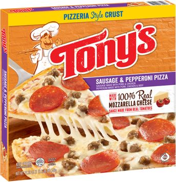 Tony's™ Pizzeria Style Crust Sausage & Pepperoni Pizza