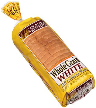 country kitchen® whole grain white bread