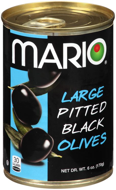 Mario® Large Pitted Black Olives