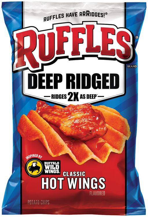 Ruffles® Deep Ridged Classic Hot Wings Potato Chips