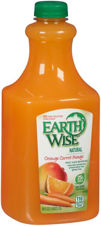 Earth Wise® Orange Carrot Mango Fruit Juice Beverage
